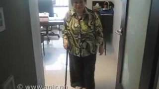 AOJR patient, before and after knee replacement surgery.mov thumbnail