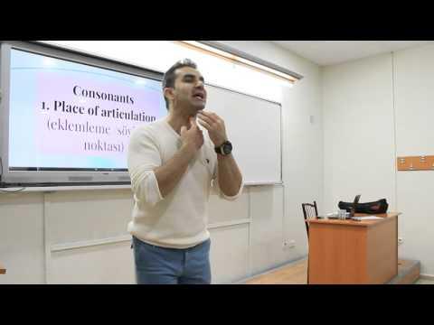 The Sounds of Language (Linguistics / Dilbilim 54)