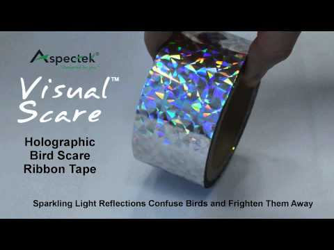 VisualScare Holographic Bird Scare Ribbon Tape