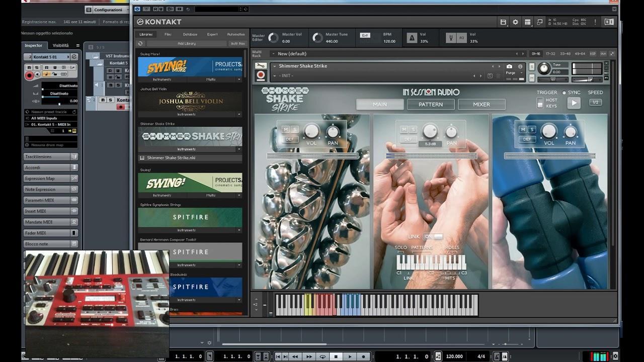 Shimmer Shake Strike Insession Audio Recensione |