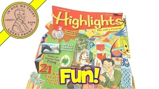 Highlights Magazine Lot 2008-2012: Hidden Pictures, Puzzles, Stories - Fun With A Purpose!