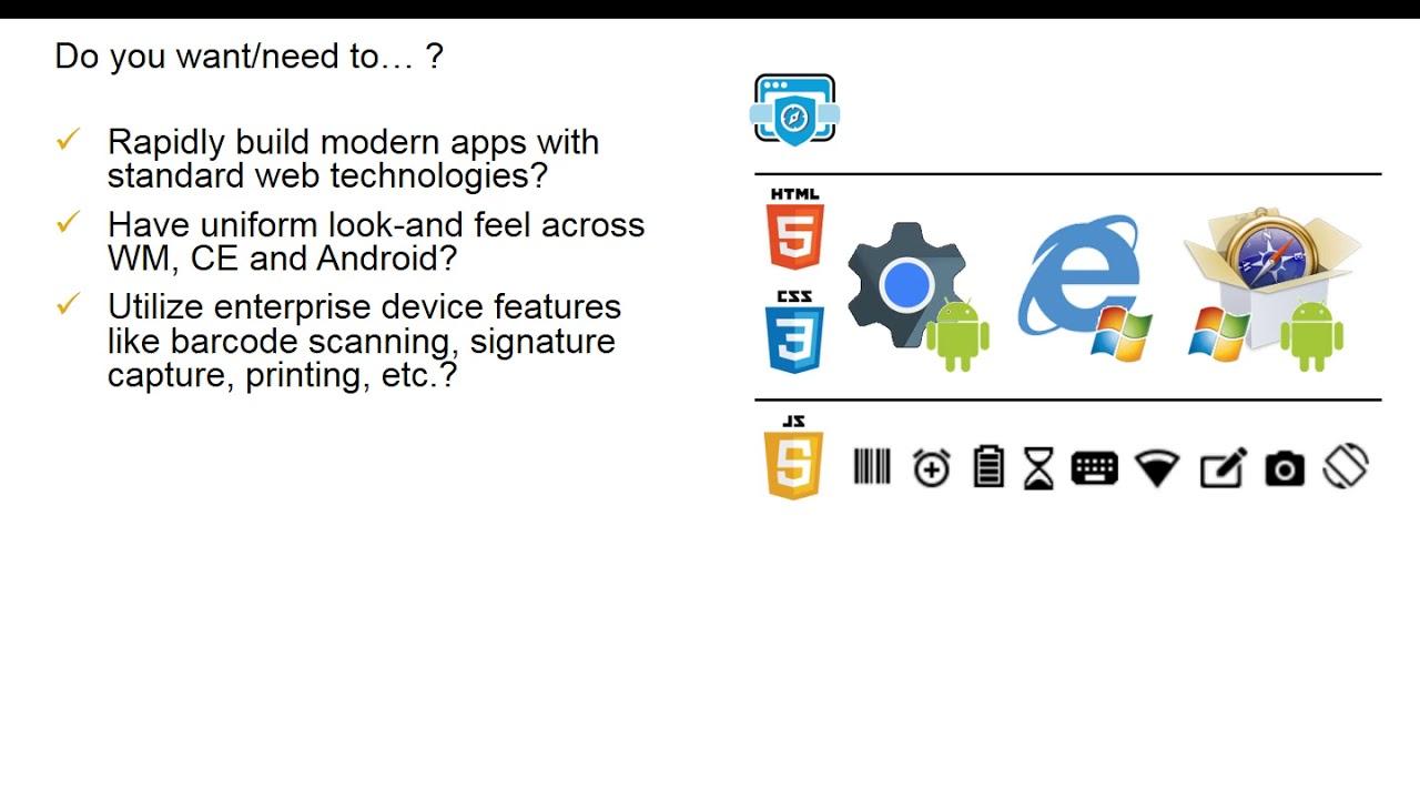 Zebra: MBS1018 Enterprise Browser Development Fundamentals 1