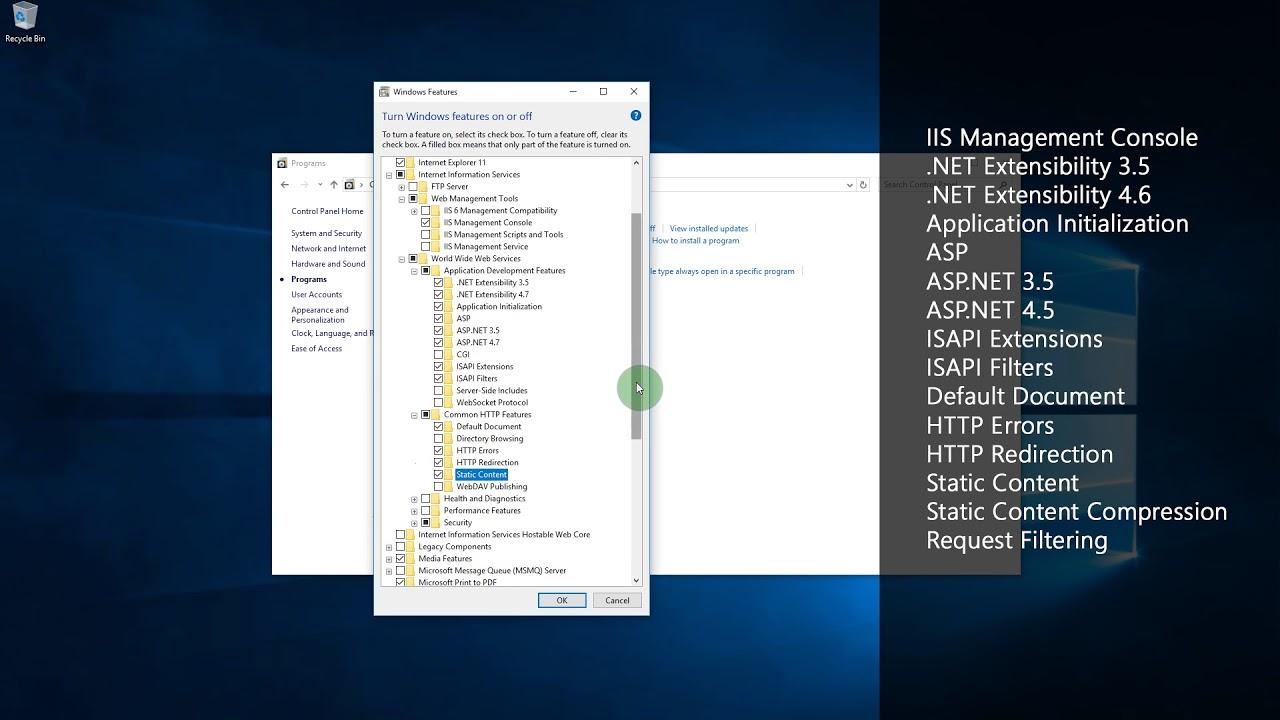 StaffMap Windows 10 Installation