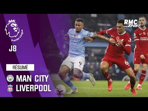 Résumé : Manchester City 1-1 Liverpool - Premier League (J8)