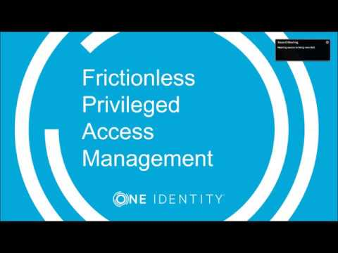 Get IAM Right Insight Series - Frictionless privileged access management that satisfies