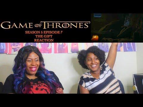 Game Of Thrones Season 5 Episode 7 Reaction!!! The Gift