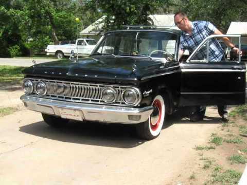 1962 Mercury Comet Wagon Wolf Whistle Youtube
