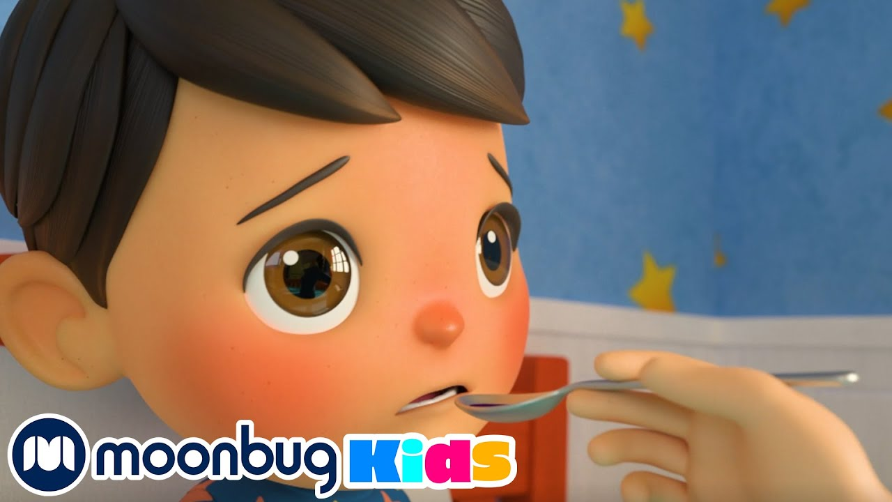 Sick Song Song   + More Nursery Rhymes and Kids Song   Little Baby Bum