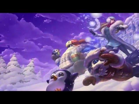 Snowdown 2015 Login Screen Animation Theme Intro Music Song 【1 HOUR】