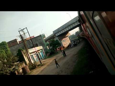 Manduadih station enter train varansi