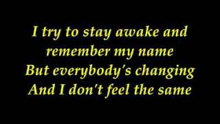 Download lagu keane - everybody changing with lyrics