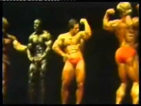 Franco Columbu + final six Mr Olympia 1981