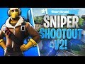 *NEW* SNIPER SHOOTOUT V2! - Fortnite: Battle Royale!
