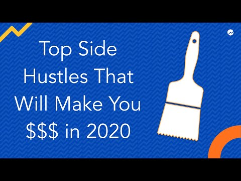 Best Side Hustles 2020.Top Side Hustles That Will Make You Money In 2020