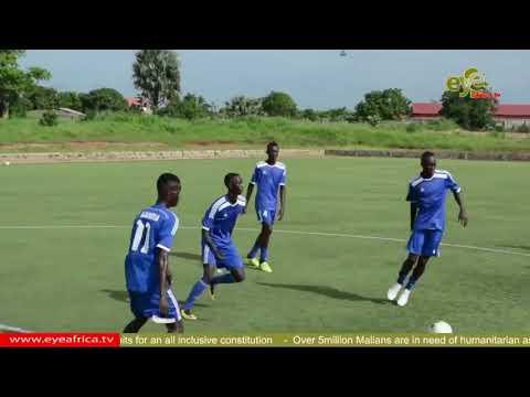 Gambia's U17 Went Into Camp Days Before The Dakar WAFU Championship