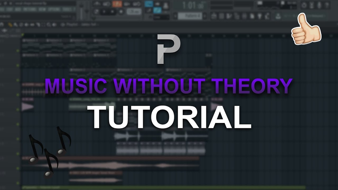 HOW TO MAKE: MUSIC WITHOUT KNOWING ANY THEORY! 🔥 - FL Studio / Hookpad  tutorial