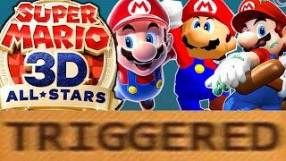 How Super Mario 3D All Stars TRIGGERS You!