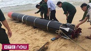 """""""Vật thể lạ"""" ở biển Phú Yên là ngư lôi nước ngoài"""