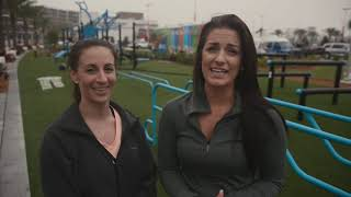 Outdoor Fitness Gym Testimonial For Community