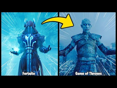 FORTNITE MEETS GAME OF THRONES