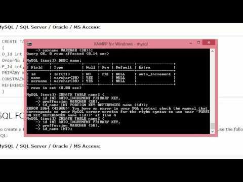 Работа с SQL: создание таблиц, ключей и JOIN-запросы