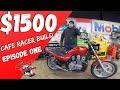 $1500 CAFE RACER BUILD CHALLENGE!  Honda NightHawk 750 budget build series