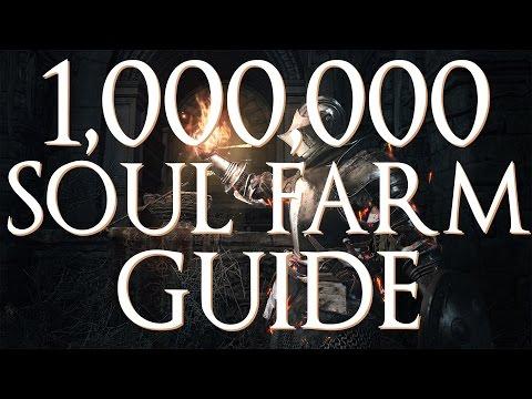 Dark Souls 3 - 1,000,000 Soul Farming Guide (Easy Method)
