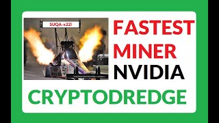 CryptoDredge Miner for x22i - SUQA Coin - 13-14.2 Mh/s on 1080ti