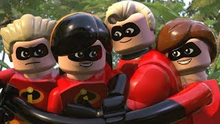LEGO The Incredibles - All Cutscenes Full Movie HD