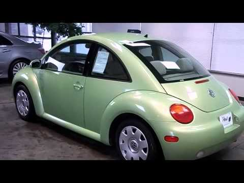 2003 Volkswagen New Beetle Coupe Gl In Green Oh 44312