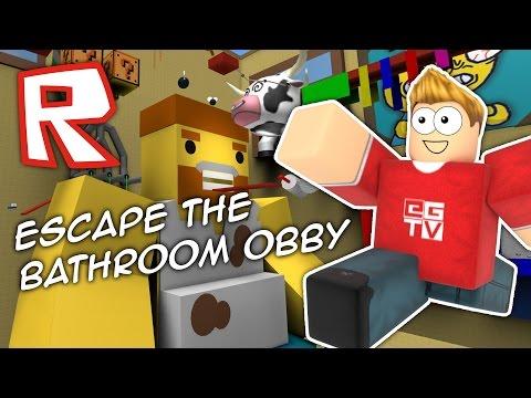 Roblox | ESCAPE THE BATHROOM OBBY!!