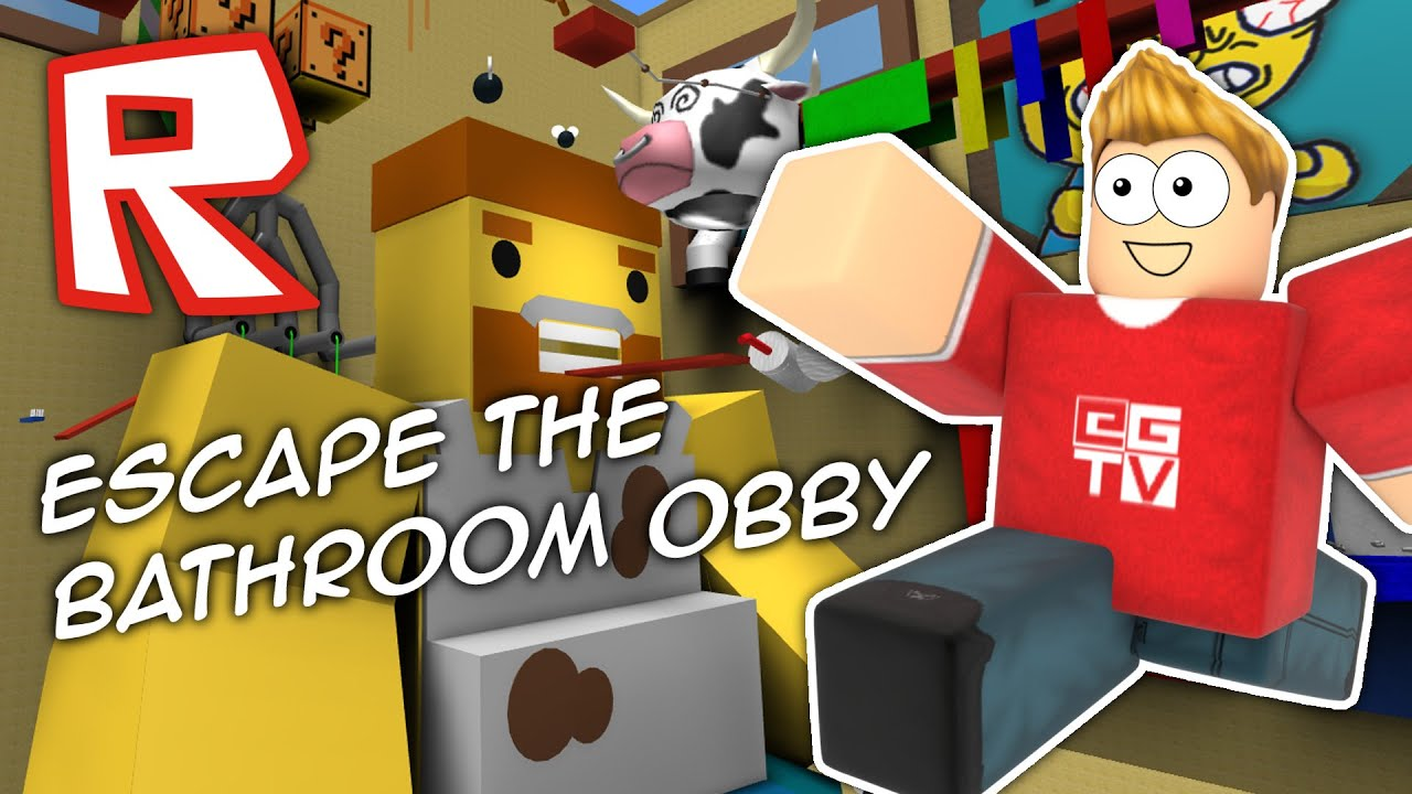 Escape The Bathroom Level 4 escape the bathroom | roblox obby - youtube