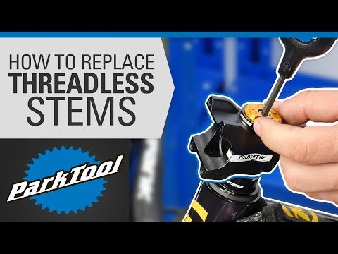 How To Replace A Bicycle Stem - Threadless