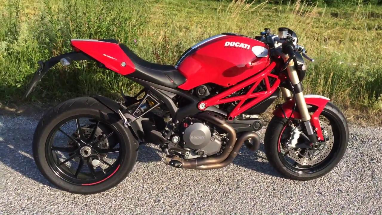 Ducati Monster 1100 EVO Diesel.. exhaust off..!!! - YouTube
