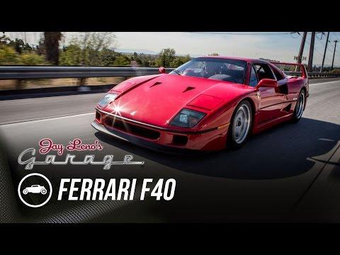 1990 Ferrari F40 - Jay Leno's Garage