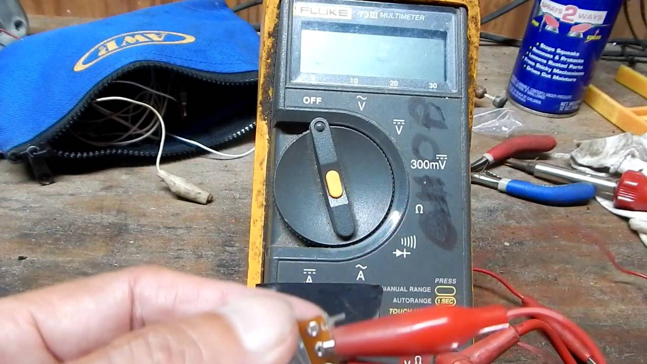 Use A Multi Meter To Check Potentiometer Youtube 500k Volume Control Wiring