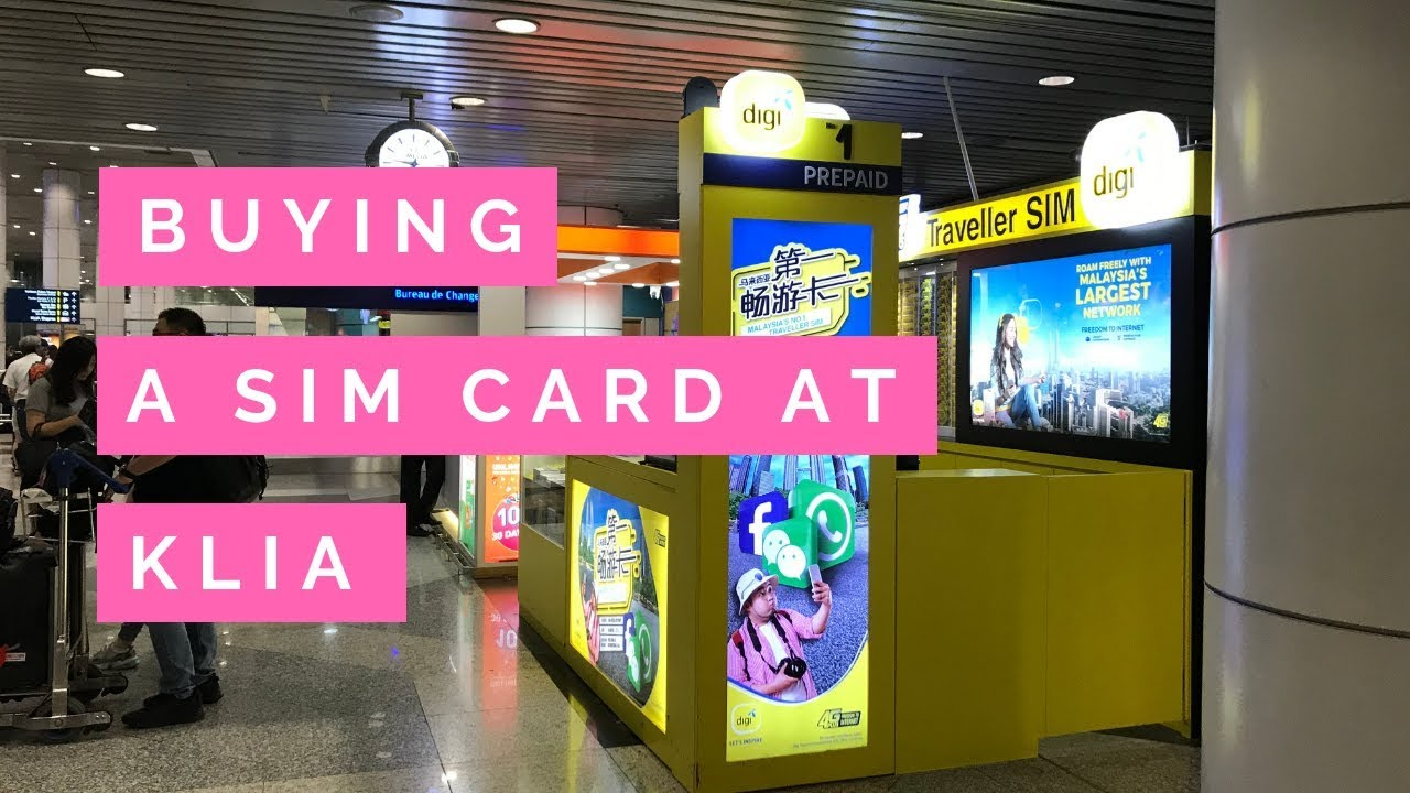 How To Buy The Best Malaysia Tourist Sim Card 2019 - Dive