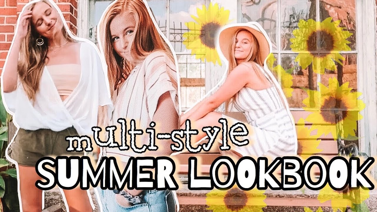 [VIDEO] - 2019 SUMMER LOOKBOOK: ft different styles :) 2