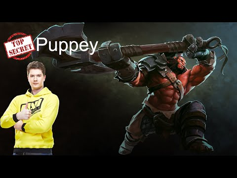 Puppey (Secret) Play Axe Pro Gameplay [Dota 2 Pro] MMR