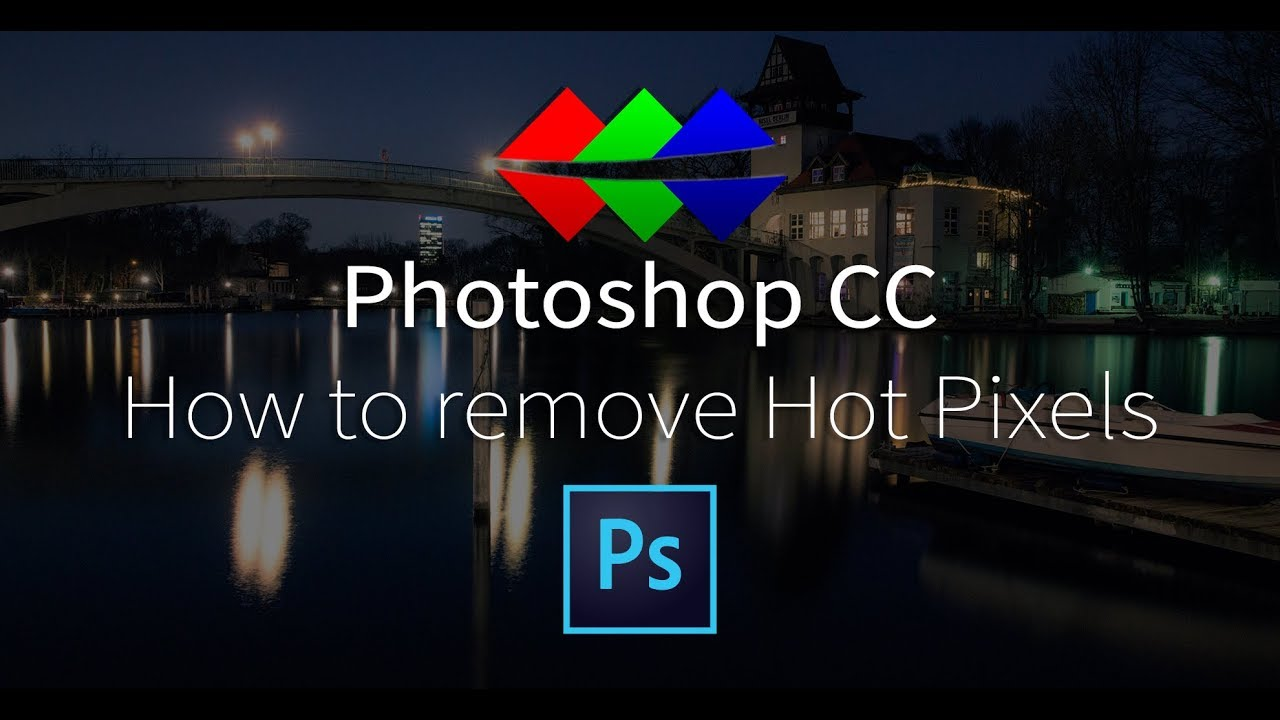 How to remove Hot Pixels in Photoshop