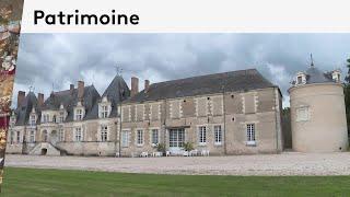 Patrimoine : le château privé de Villesavin dans le Loir-et-Cher à Tour-en-Sologne