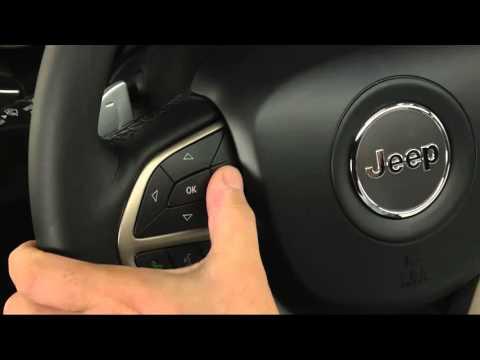 2016 Jeep Grand Cherokee   Driver Information Display (DID)