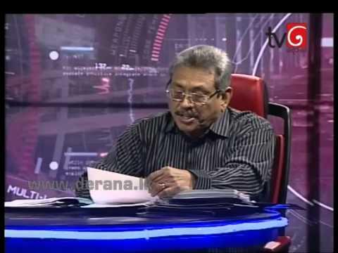 360 with Gotabhaya Rajapakse - 16th March 2015
