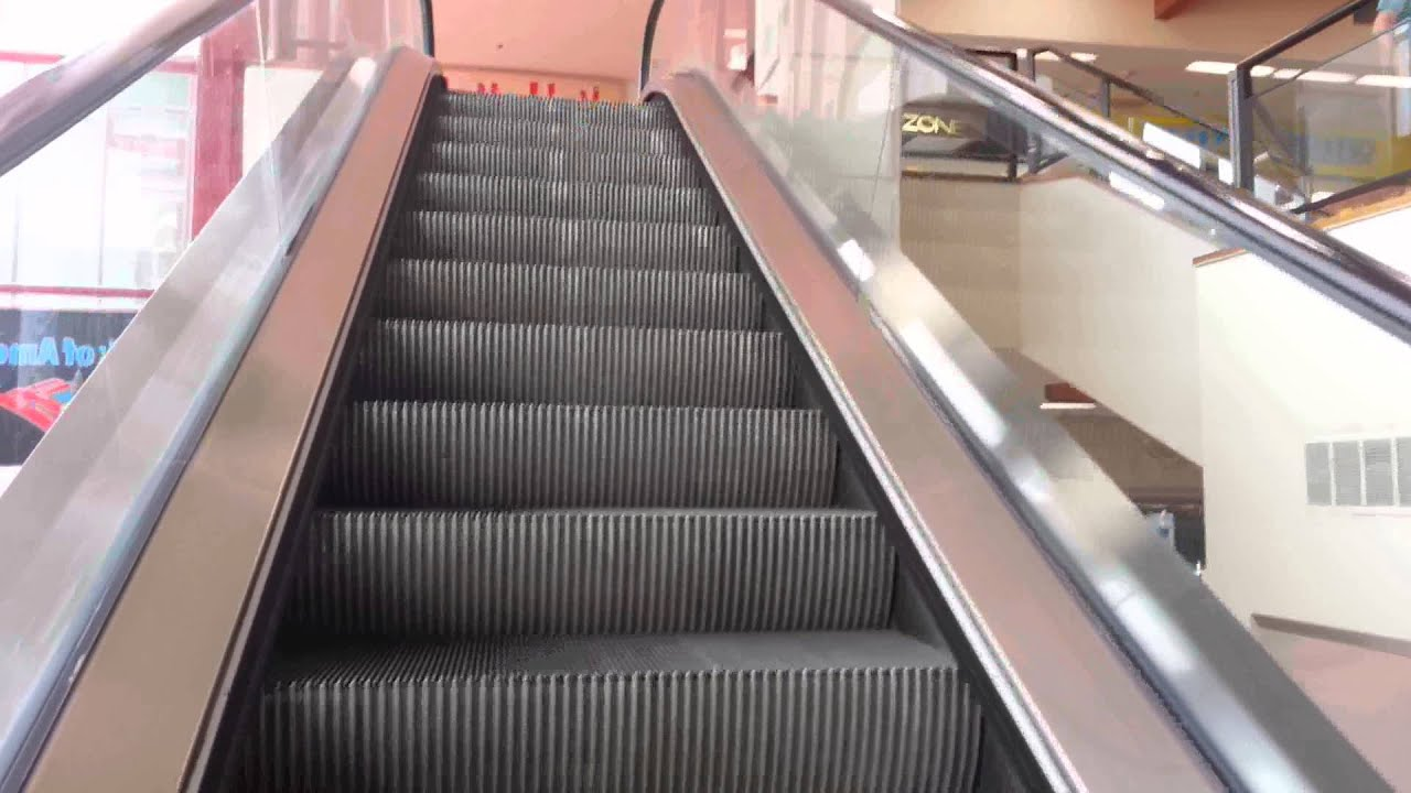 Escalators at the Asian Garden Mall in Westminster CA