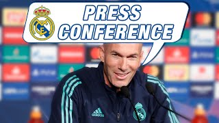 Varane and Zidane | PSG vs Real Madrid press conference (Champions League)