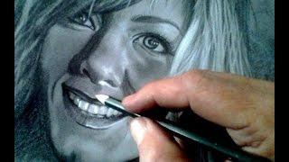 Desenhando a Jennifer Aniston