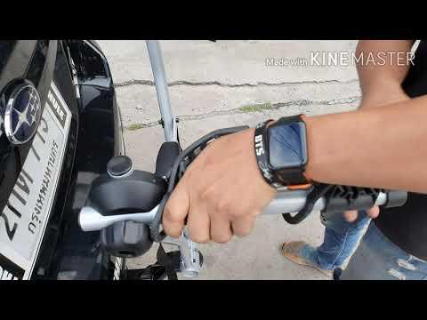 วิธีการติดตั้งแร็คจักรยาน Thule Xpress 970