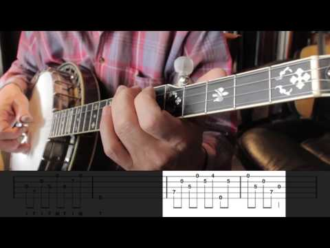 Bluegrass Banjo Lesson 37 -  Introduction to Melodic Banjo