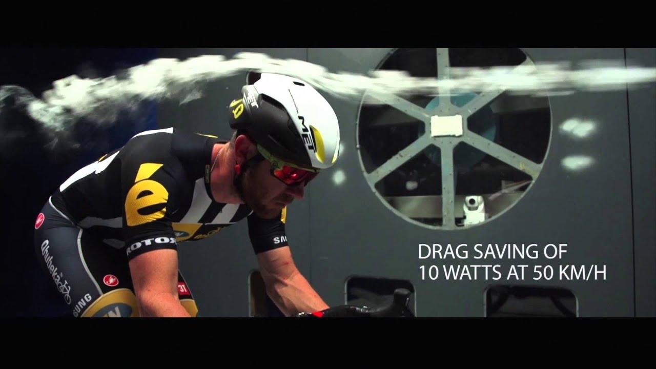Fastest Road Bike >> MET MANTA in wind tunnel - YouTube