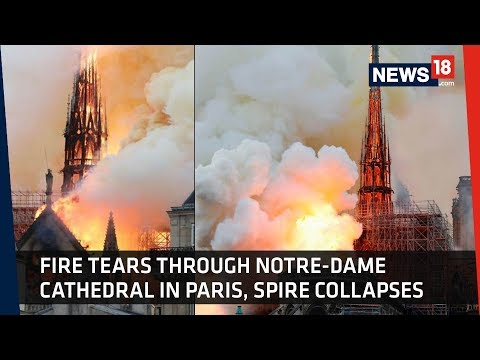 Notre-Dame | Fire Engulfs Popular Medieval Cathedral In Paris